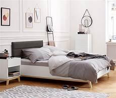 Bett Mit Kopfteil - bett mit gepolstertem kopfteil ca 140 x 200 cm