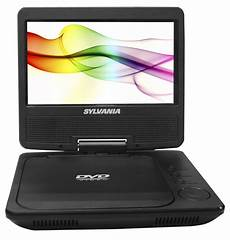 Dvd Player Tragbar - sylvania 7 quot premium dual screen portable dvd player