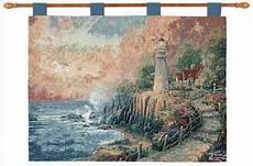 kinkade lighted tapestry ebay