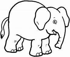 print teaching through elephant coloring