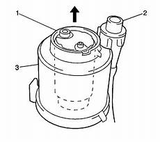 I M Trying To Replace The Fuel Filter On A 05 Vibe Gt I