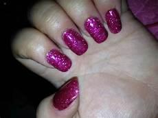 rosa nägel mit glitzer bild rosa glitzer n 228 gel anf 228 nger nagelmodellagen