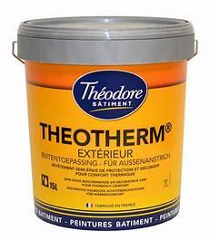 peinture isolante extérieure peinture isolante de confort thermique theotherm quelle