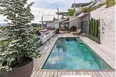 Terrasse Mit Pool Parc S Gartengestaltung Gmbh