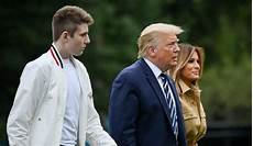Barron Trump 2021 Melania Trump Says Son Barron Had Covid 19 Was