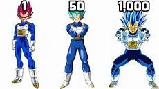 vegeta all forms power level multipliers official youtube