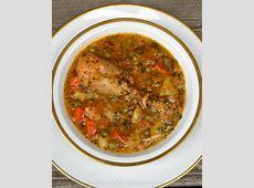 aguado de gallina or chicken rice soup_image