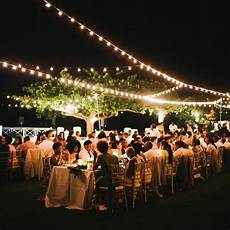how to illuminate your outdoor wedding martha stewart