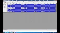 audacity musik schneiden und bearbeiten tutorial