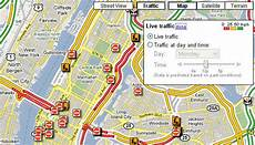 Maps Shows Traffic Conditions In Major U S Cities