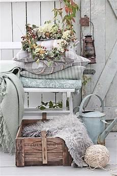 country vintage home decor pretty fall porch decor ideas via vibeke design one way