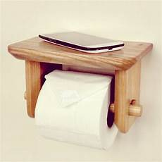 Toilet Paper Shelf Holder Wall Mounted by Wood Toilet Paper Holder Wall Mount With Shelf