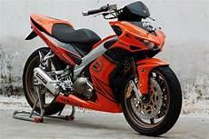 Modifikasi Motor Mx King by 21 Gambar Modifikasi Motor Yamaha Mx King 150 Serba
