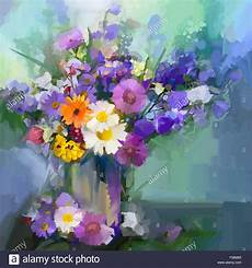fiori in pittura still a bouquet of flowers painting
