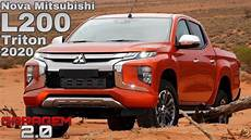 mitsubishi triton 2020 mitsubishi l200 triton 2020 garagem 2 0