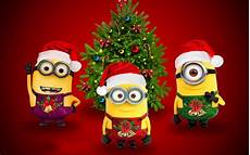 wallpaper minion merry christmas funny minion wallpapers desktop pixelstalk net