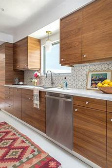 Mid Century Kitchen Backsplash