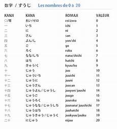 nombres en japonais les nombres en japonais les le 231 ons de m nakata