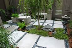 Kleiner Zen Garten - a zen garden in 225 sq ft asian landscape orlando