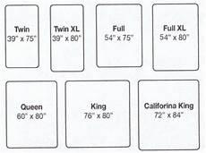 mattress sizes chart king size bed dimensions mattress