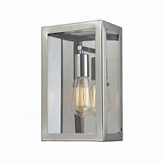 retro wall sconce with clear glass in polished chrome finish 31210 1 destination lighting