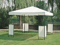 gartenpavillon pavillon colombo 3x3 mit stahlgestell dach