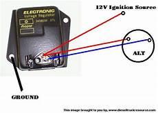 1992 Chevy 10 Pulse Generator Wiring Diagram by External Voltage Regulator On Cummins Dodge Diesel