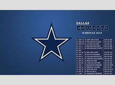 Dallas Cowboys Schedule 2015 wallpapers HD 1080p for