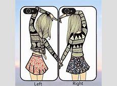 EC Pretty Teen Girls Best Friend Phone Case Cover for