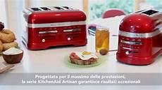 tostapane kitchen aid tostapane kitchenaid artisan a 2 4 scomparti 5kmt2204