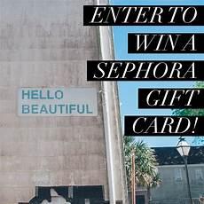 sephora giveaway sephora gift card sephora hello gift