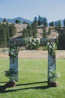 outdoor montana wedding mackenzie rustic
