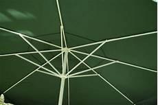 Sonnenschirm 4m Alu Mit Kurbel - sonnenschirm 4m gr 252 n mit kurbel alu gestell kaufen bei