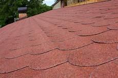 Dach Decken Mit Bitumenschindeln