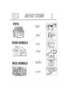 worksheets on domestic animals for grade 1 14267 worksheet pet farm animals animal worksheets animals pets