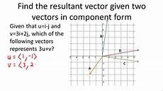 component vectors ck 12 foundation