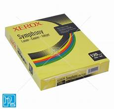 Xerox Office Supplies Ltd by Xerox Symphony A4 120gsm Yellow Paper Hps Supplies