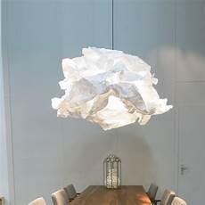 suspension papier ikea pendant light cloud nuage white 216 120cm propl