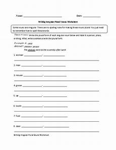 irregular plurals worksheets for second grade nouns plural and curriculum relevant vocabulary