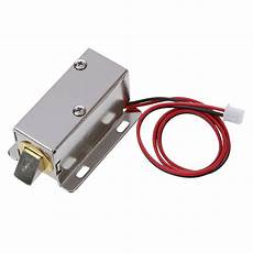 css 0837l dc 12v 8w open frame type solenoid for electric door lock in magnetic materials from