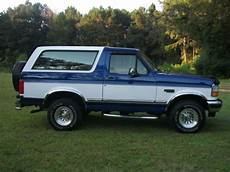 how petrol cars work 1996 ford bronco parking system buy used 1996 ford bronco xlt sport utility 2 door 5 0l with 4wd in franklinton louisiana