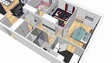 plan maison moderne 3d alix delclaux architecte interieur animation plan 3d