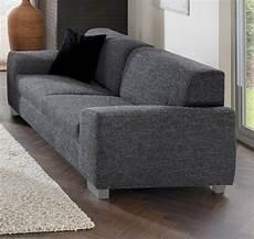 sofa federkern 3 sitzer sofa dunkelgrau mit federkern online bei