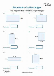 rectangle measurement worksheets 1587 how to find the perimeter of rectangles and squares maths with