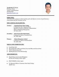 bagung resume
