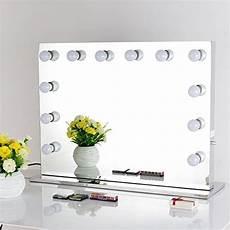 schminktisch spiegel beleuchtet chende rahmenlos hollywood schminkspiegel mit beleuchtung