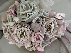 bouquet de fleurs en tissu bouquet fleurs tissus