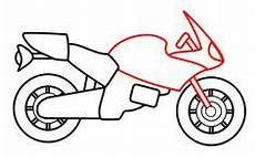 moto facile a dessiner drawing a motorcycle comment dessiner une moto dessin moto facile et dessin moto