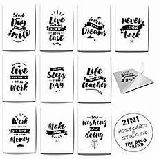 Bild Als Poster Drucken - freshup 2 in 1 saying cards sticker in 10 part set top