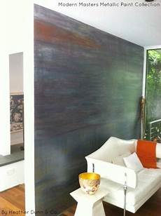 a beautiful feature wall finished in modern masters